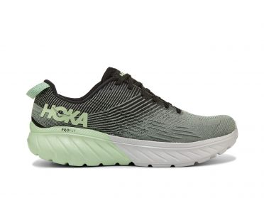 Hoka One One Mach 3 running shoes green men