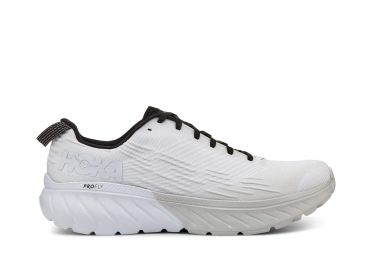 Hoka One One Mach 3 running shoes white women