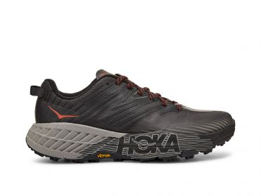 Hoka One One Speedgoat 4 trail running shoes anthracite men