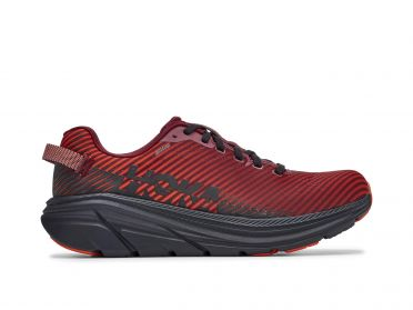 Hoka One One Rincon 2 running shoes black/red men
