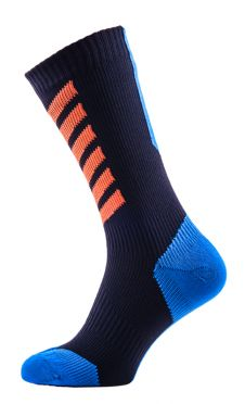 Sealskinz MTB mid mid hydrostop cycling socks black/blue