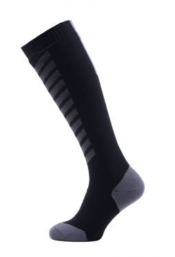 Sealskinz MTB mid knee cycling socks black/anthracite