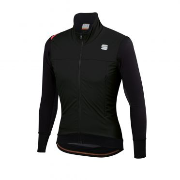 Sportful Fiandre strato wind long sleeve jacket black men