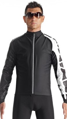 Assos IJ.milleJacket_evo7 cycling jacket black/white men