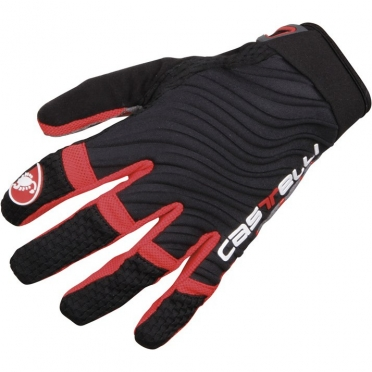 Castelli CW. 6.0 cross glove black/red mens 11539-910