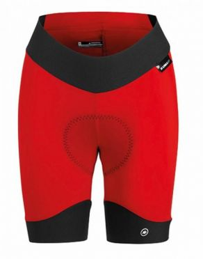 Assos Uma GT Half cycling shorts red women