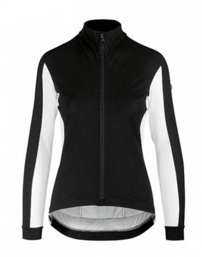 Assos HabuJacketLaalalai cycling jacket black/white women
