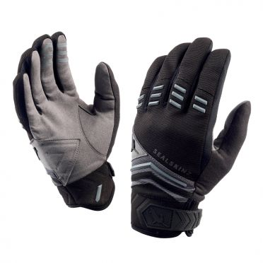 SealSkinz Dragon eye MTB cycling gloves black/grey