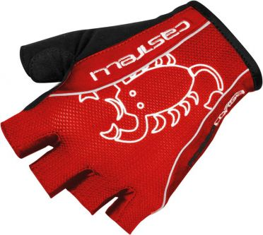 Castelli Rosso corsa classic glove black/red mens 13032-123 2015