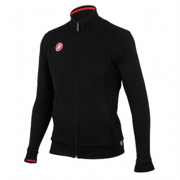 Castelli Race day track jacket black men 13091-010