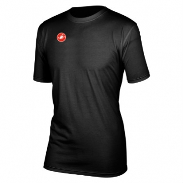 Castelli race day t-shirt black men´s 13095-010 2014
