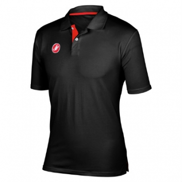 Castelli race day polo black mens 13096-010