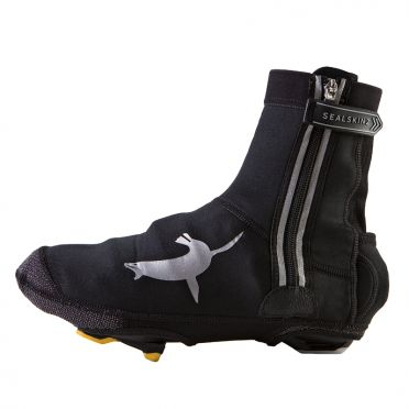 Sealskinz Neoprene halo overshoe black