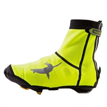 Sealskinz Neoprene open sole overshoe yellow