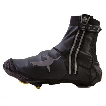 Sealskinz Lightweight open sole halo overshoe black