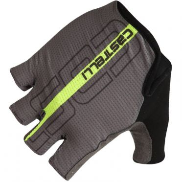 Castelli Tempo glove black/yellow fluo men