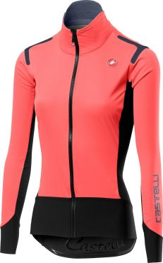 Castelli Alpha ros W long sleeve jersey pink women