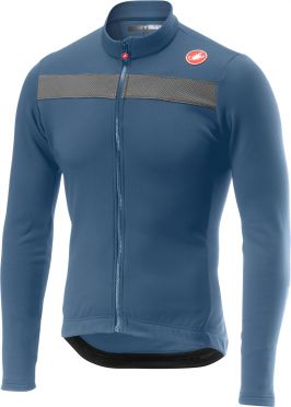 Castelli Puro 3 jersey light blue men