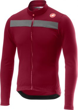 Castelli Puro 3 jersey light red/purple men