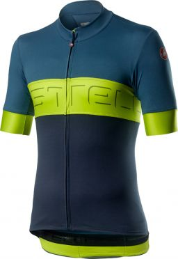 Castelli Prologo VI jersey blue/yellow men