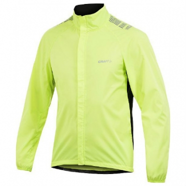 Craft Move wind jacket men yellow