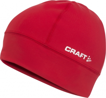 Craft Light thermal running hat red