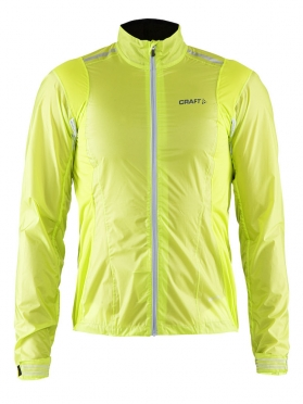 Craft Tempest rain jacket men yellow