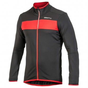 Craft Move Thermal cycling jacket men black/red