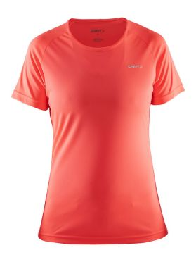 Craft Prime short sleeve running shirt pink women