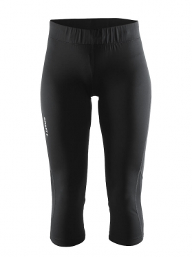 Craft Prime capri 3/4 run tight black women
