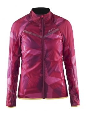 Craft Featherlight cycling jacket geo pop women