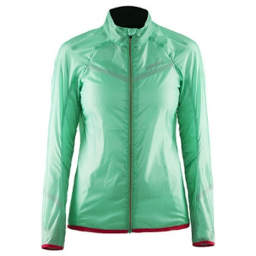 Craft Featherlight cycling jacket green women