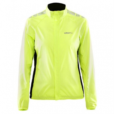 Craft Move wind jacket yellow women