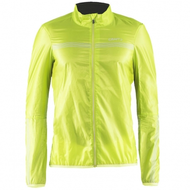 Craft Featherlight cycling jacket yellow men