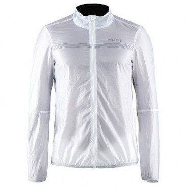 Craft Featherlight cycling jacket white men