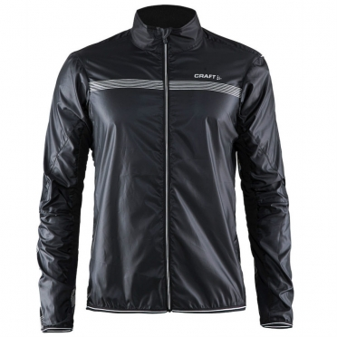 Craft Featherlight cycling jacket black men