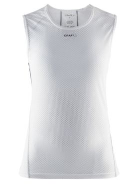 Craft Cool mesh superlight sleeveless baselayer white women