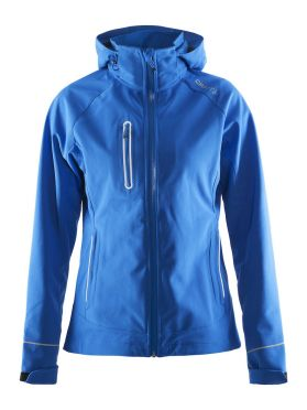 Craft Cortina soft shell jacket blue women