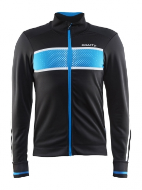 Craft Glow cycling jacket black/pacific men