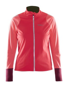 Craft Belle thermal wind jacket pink women