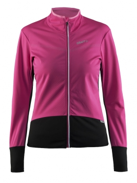 Craft Belle thermal windjersey black/pink women