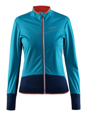 Craft Belle thermal windjersey blue/gale women