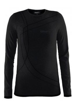 Craft Active Comfort long sleeve baselayer black/solid junior
