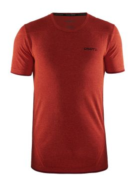 Craft Active Comfort short sleeve baselayer red/bolt men