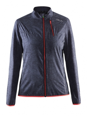 Craft Mind running jacket black/shock women