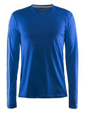 Craft Mind long sleeve running shirt blue men