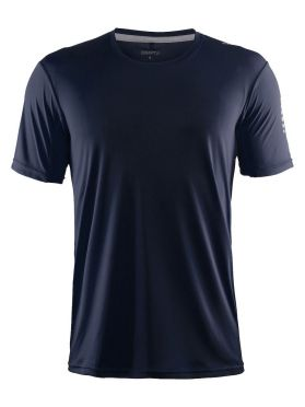 Craft Mind short sleeve running shirt blue/navy men