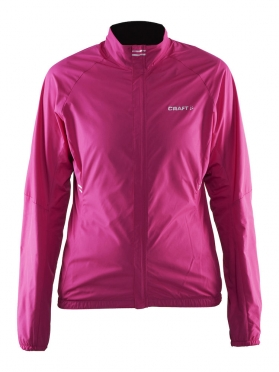 Craft Velo wind cycling jacket pink/smoothie women