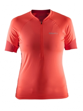 Craft Classic cycle jersey women red/orange