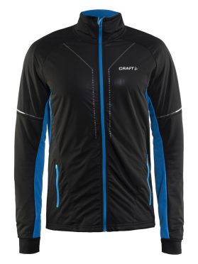 Craft Storm cross-country ski jacket 2.0 black/blue men